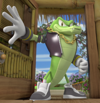 Vector the Crocodile (Sonic Boom)