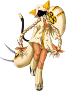 Taokaka (Calamity Trigger, Character Select Artwork)