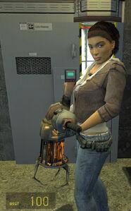 Alyx Vance - Gravity Gun