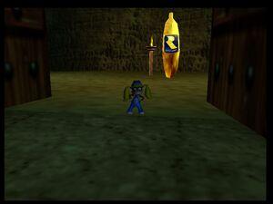DK64 Tiny and Banana Rareware
