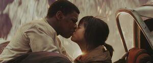Finn and Rose Kiss
