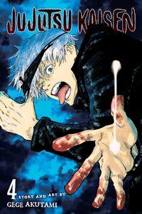 Jujutsu Kaisen Manga Volume 4 Cover