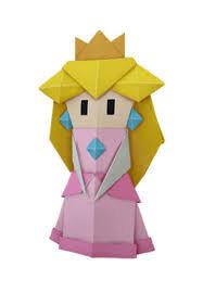 Origami Peach