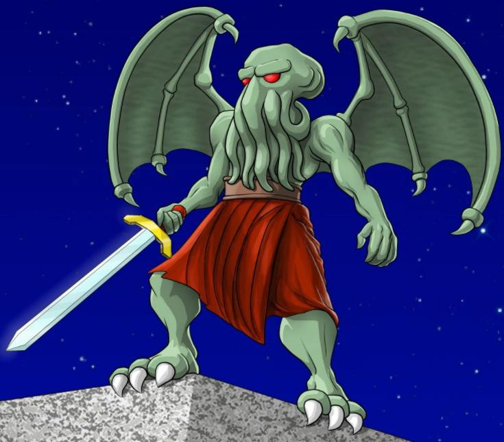 Cthulhu (Cthulhu Saves the World)