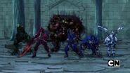 Five Bakugan under Tiko's control