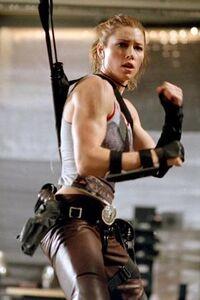 Jessica Biel as Abigail Whistler in Blade Trinity 1