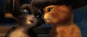 Kitty flirting