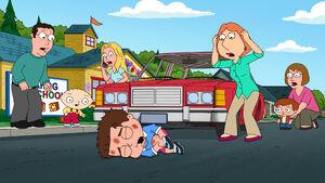 Lois hits a boy