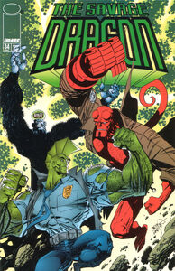 Savage Dragon Issue 34 Cover