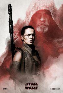 TLJ Luke and Rey Poster