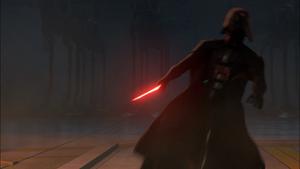 Vader shoved
