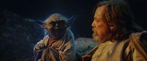 Yoda and Luke - TLJ