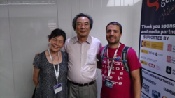 Tōru Iwatani Gamelab Barcelona 2015.png