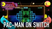 PAC-MAN Championship Edition 2 Plus - Official trailer for Switch (Spanish)