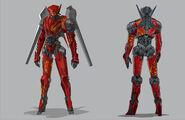Chinese Jaeger Design by Francisco Ruiz Velasco