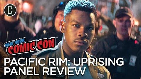 Pacific Rim Uprising Panel Review - NYCC 2017