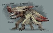 Kaiju Concept Art 08