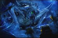 Concepto del Bebe Kaiju Saliendo de la Matriz