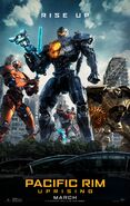 Pacific Rim Uprising (Theatrical Poster)
