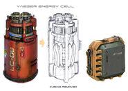 Celdas de Energia de los Jaegers