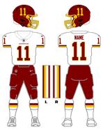 Washington white uniform