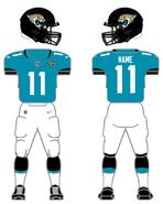 Jaguars color uniform