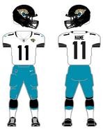 Jaguars white uniform