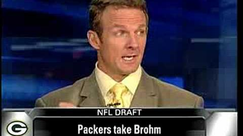 2008 NFL DRAFT Packers Select BRIAN BROHM