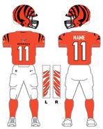 Bengals alternate uniform