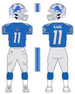 Lions color uniform