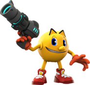 Pacster Ready for Battle (Pac-Man and the Ghostly Adventures 2 Official Render)