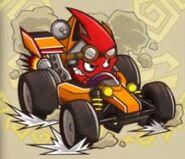 Dash Car Blinky