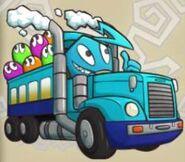 Happy Blue Bus Inky