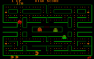 Pac-Man (PC booter) (DOSBox 0.74)