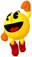 Pac-Man Jumping (Pac-Man World 3 Official Artwork)
