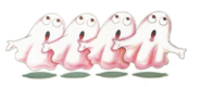 Ataripacman ghosts