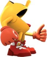 Pacster Powering-Up (Pac-Man and the Ghostly Adventures Official Render)