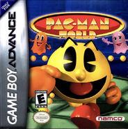GBA boxart of Pac-Man World