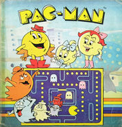 Pac-man-panini-stickers-collector-book-1985-1