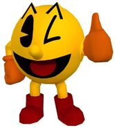 Pac-Man Thumbs-Up (Pac-Man World 3 Official Artwork)