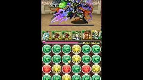 アテナ 降臨! 煌女神 (雅典娜) 超地獄級 木神隊 9PT Puzzle & Dragon パズドラ 無課金日記
