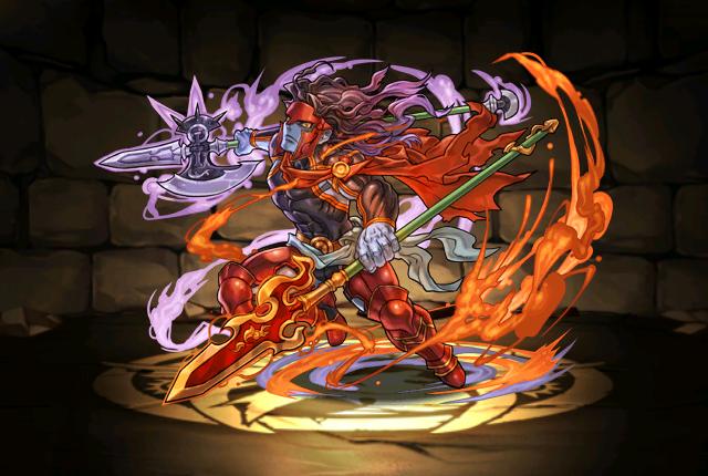 狂荒の戦軍神・アレス