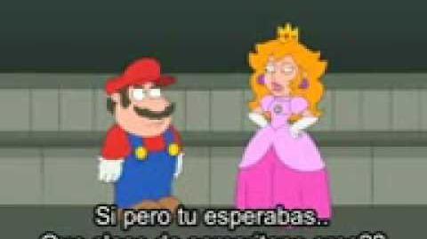 Mario y princesa - padre de familia