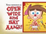 Abre Grande y di ¡Aaagh!
