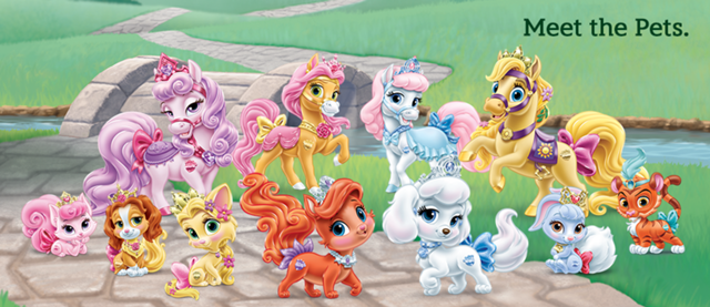 The Gang except Sweetie, Seashell, Windflower, Blossom, Lily, Bayou, Meadow, and Daisy