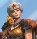Tyra Accessories Red Winter Cap.png