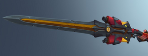 Furia Weapon Iron Maiden Pyre Blade.png