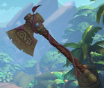 Grover Weapon Lavender Throwing Axe.png