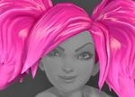 Evie Head Divination Pigtails Icon.png