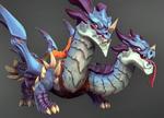 Moji Weapon Dragonborn's Razorback Icon.png